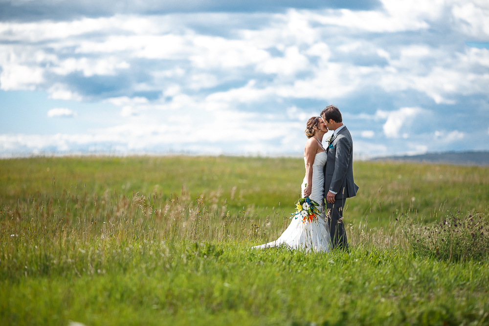 Private land wedding Springbank Calgary Nathalie Terekhova Wedding photographer Calgary