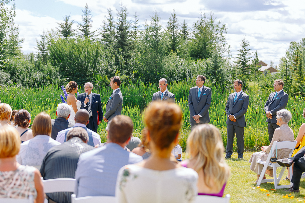 Private land wedding Springbank Calgary