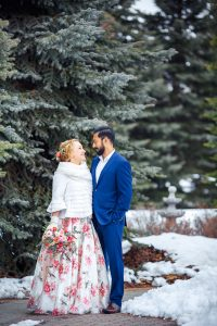 Winter wedding photographer Calgary Nathalie Terekhova Fine art photography