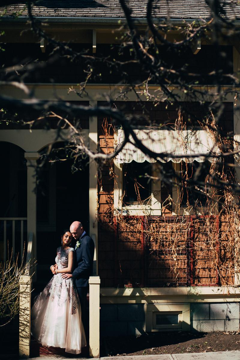 Reader Rock garden wedding photographer