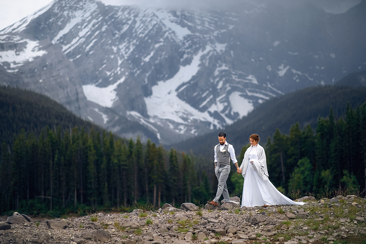 Calgary elopement photographer