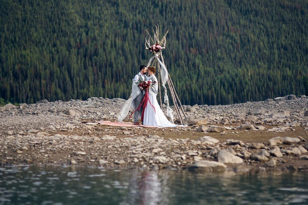rocky mountains elopement wedding photographer Calgary Banff Canmore Jasper